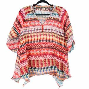 Grand & Greene Blouse Boho Wearable Art